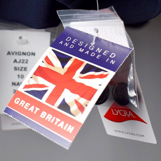 Designed and made in Great Britain
