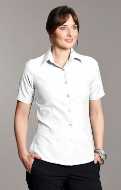 Oxford Short Sleeve Blouse
