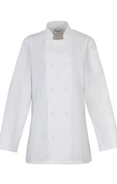 Ladies' Long Sleeve Chef's Jacket