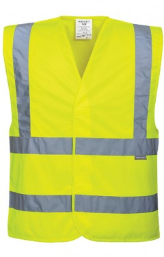 Hi Vis 2 Band and Brace Vest