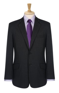 Mens Tailored Fit 2 Button Jacket