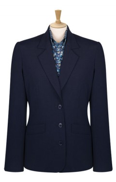 Mid Length 3 Button Jacket
