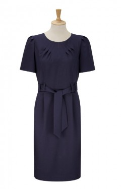 Tie Belt Shift Dress