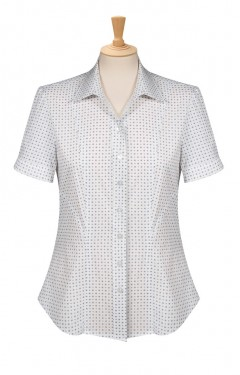 Modern style blouse with elastane