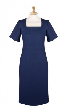 Double Panel Shift Dress