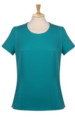 Plain Round Neck Blouse