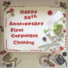 First Corporate Clothing 20th Anniversary Party!