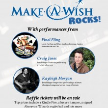 Image: Make-A-Wish Rocks! Our Fundraising Concert