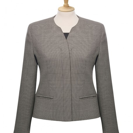 Ladies' Concealed Button Jacket: Image 5
