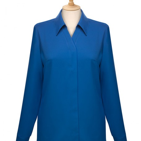 Ladies' Long Sleeve Blouse: Image 13