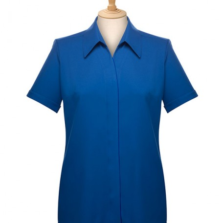 Ladies' Short Sleeve Blouse: Image 7