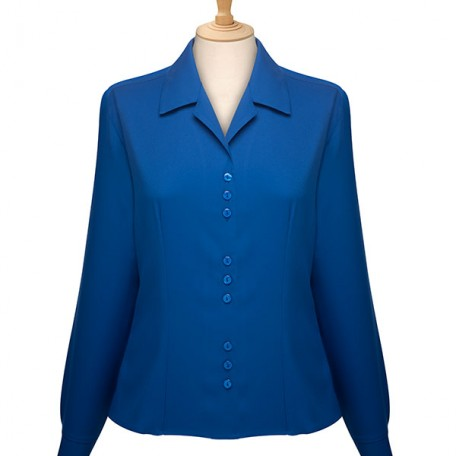 Long Sleeve 3 Button Blouse: Image 2