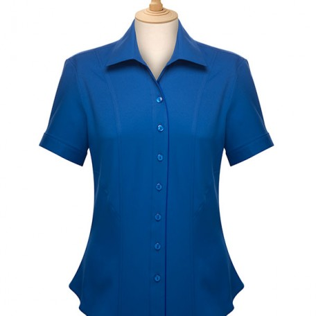 Ladies' Short Sleeve Blouse: Image 6