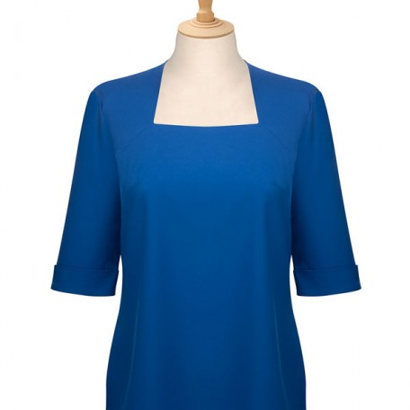 Ladies' 3/4 Sleeve Square Neck Blouse: Image 4