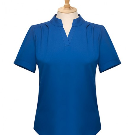 Ladies' Notch Neck Blouse: Image 9