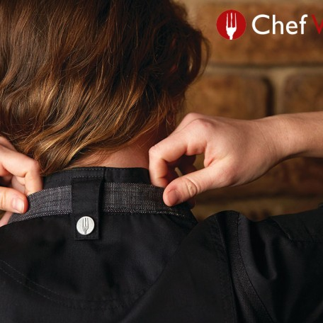 Chef Works apron fastener: Image 8