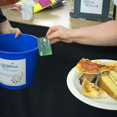 Make-A-Wish Bake sale, Cash only! : Image 4
