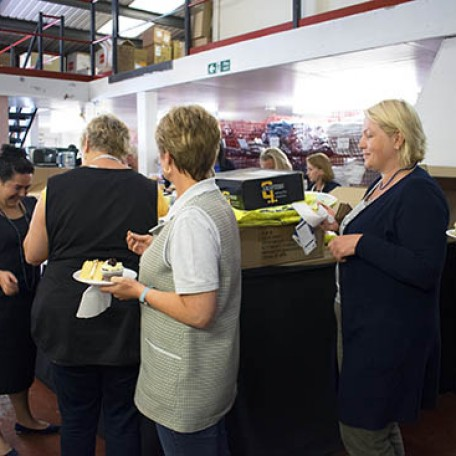 queuing to pay for bake sale goods!: Image 7
