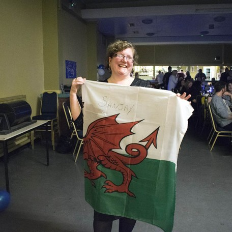 Raffle winner of the signed wales flag!: Image 5