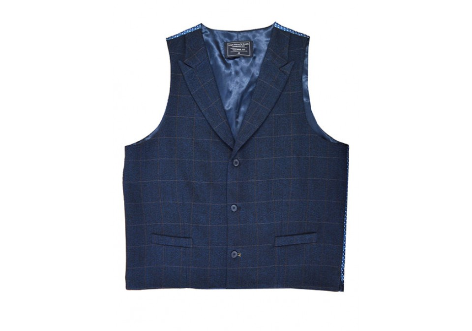 Tailored Fit Collared Waistcoat