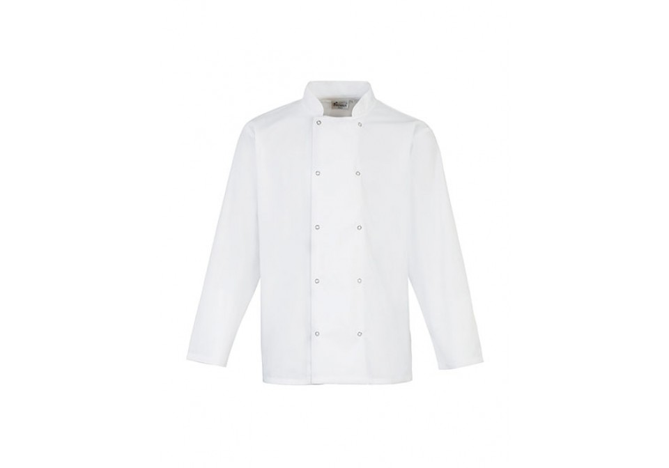 Long Sleeve Studded Chef's Jacket