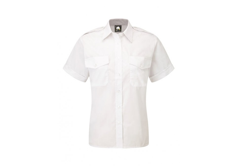 Ladies Short Sleeve Pilot Shirt