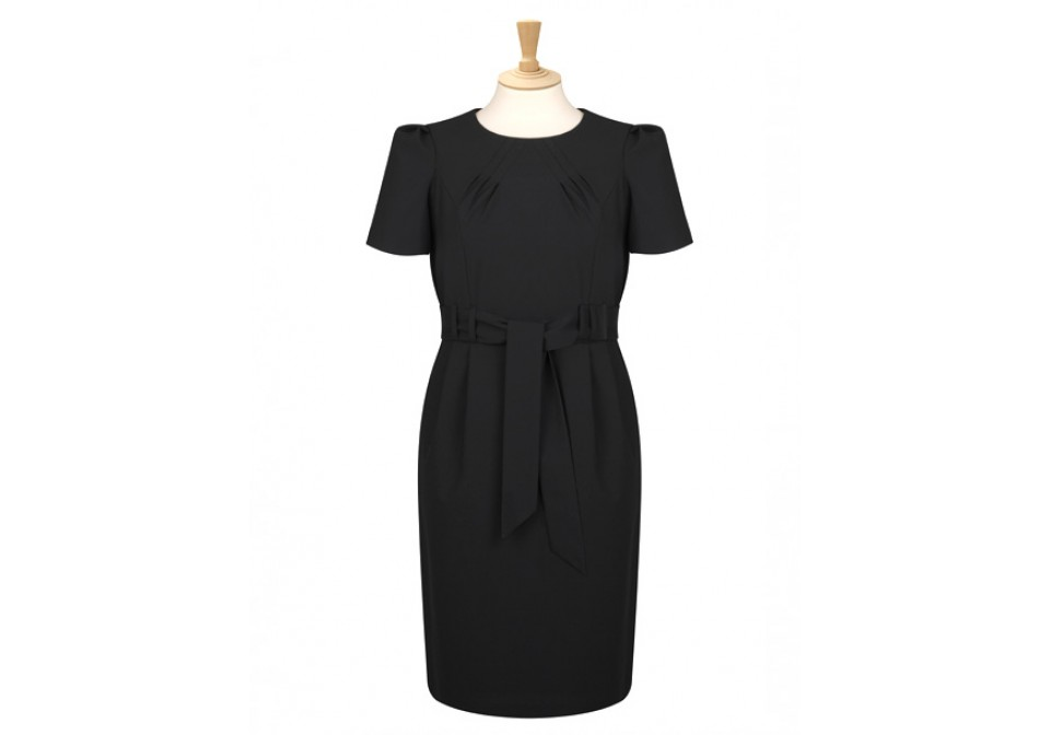 avignon range tie belt shift dress ad02