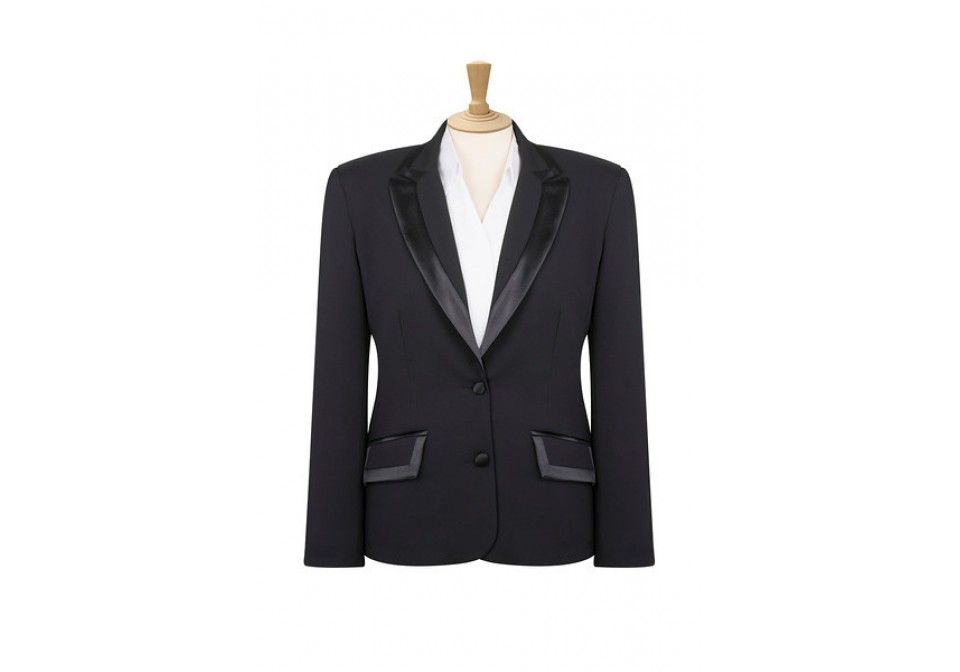 Ladies Satin Trim Jacket