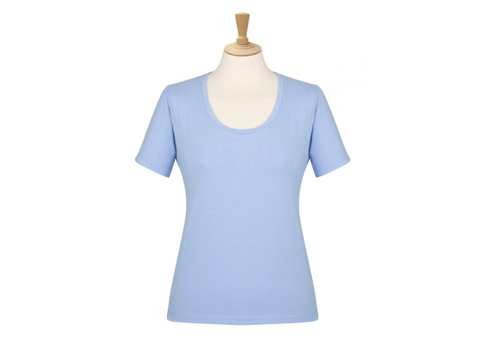 Scoop Neck Stretch Top