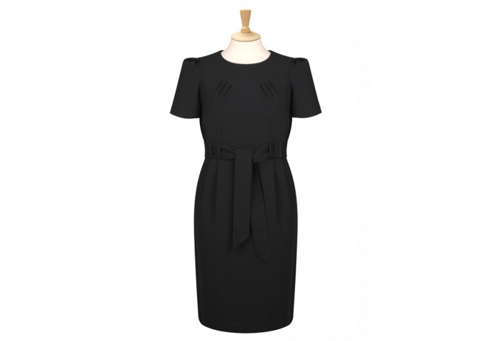 avignon range tie belt shift dress ad02