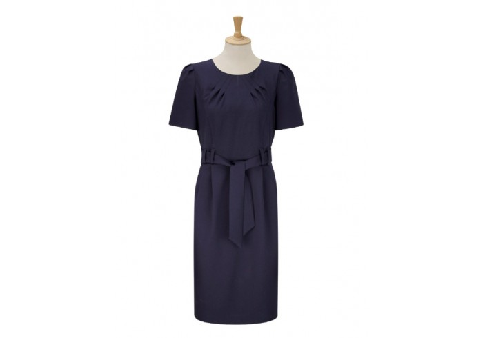 dijon range tie belt shift dress dd02