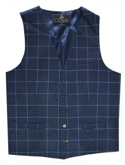 Tailored Fit Checked Waistcoat