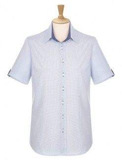 Short Sleeve Button Through Blouse