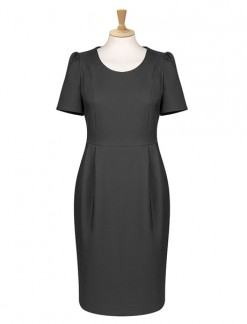 Scoop Neck Shift Dress