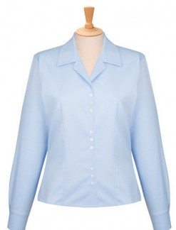Ladies Revere Collar Blouse