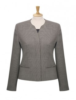 Ladies' Concealed Button Jacket