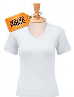 Ladies V Neck Stretch Top