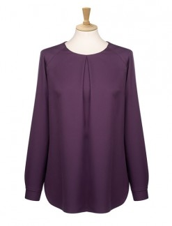 Long Raglan Sleeve Blouse