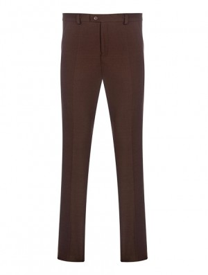 Mens Slim Leg Trousers