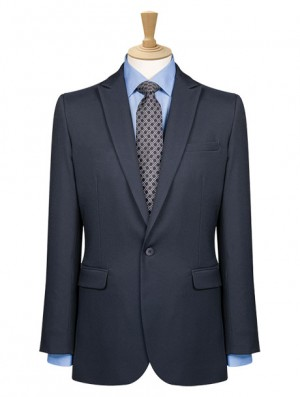 One Button Slim Fit Jacket