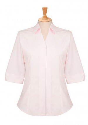 3/4 Sleeve Ladies Fitted Blouse